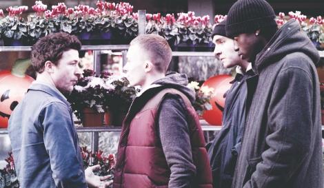 "Aiden Gillen meets Sonny Green's gang in Simon Blake's ""Still."" Courtesy of CIFF."