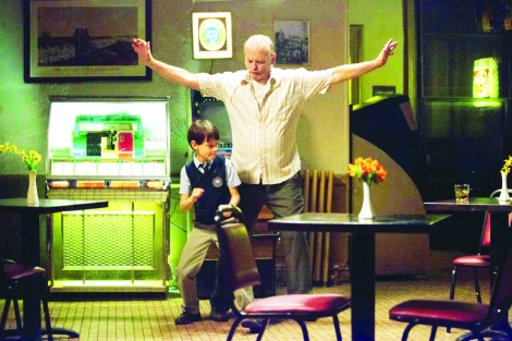"Jaeden Lieberher and Bill Murray in Theodore Melfi's ""St. Vincent."" Courtesy of CIFF."