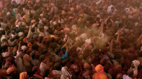 "Prashant Bhargava's ""Radhe Radhe: Rites of Holi."" Courtesy of Khushi Films."