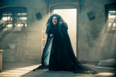 "Meryl Streep stars in Rob Marshall's ""Into the Woods."" Courtesy of Disney."