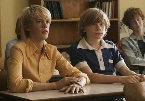 "Frederik Winther Rasmussen and Villads Bøye in Niels Arden Oplev's ""Speed Walking."" Courtesy of Nordisk Film."