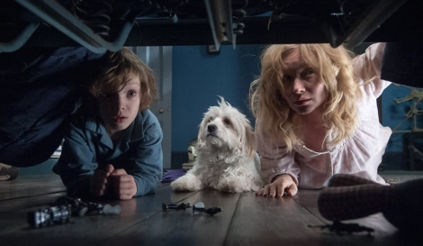 "Noah Wiseman and Essie Davis in Jennifer Kent's ""The Babadook."" Courtesy of IFC Films."