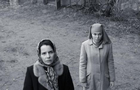 "Agata Kulesza and Agata Trzebuchowska in Pawel Pawlikowski's ""Ida."" Courtesy of Music Box Films."