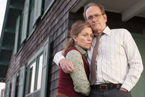 "Frances McDormand and Richard Jenkins in Lisa Cholodenko's ""Olive Kitteridge."" Courtesy of HBO."