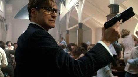 "Colin Firth in Matthew Vaughn's ""Kingsman: The Secret Service."" Courtesy of Twentieth Century Fox."