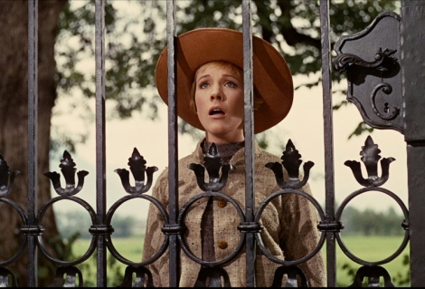 "Julie Andrews in Robert Wise's ""The Sound of Music."" Courtesy of Twentieth Century Fox."