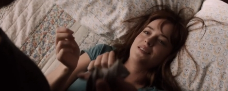 "Dakota Johnson in Sam Taylor-Johnson's ""Fifty Shades of Grey."" Courtesy of Universal Pictures."