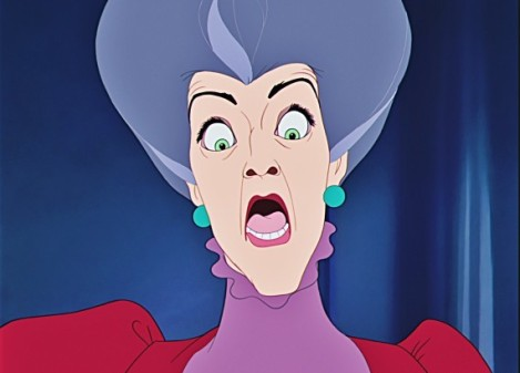 "Lady Tremaine in Clyde Geronimi, Wilfred Jackson and Hamilton Luske's ""Cinderella."" Courtesy of Disney."