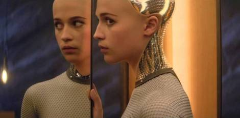 "Alicia Vikander in Alex Garland's ""Ex Machina."" Courtesy of A24."
