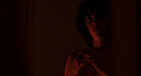 "Scarlett Johansson in Jonathan Glazer's ""Under the Skin."" Courtesy of A24."