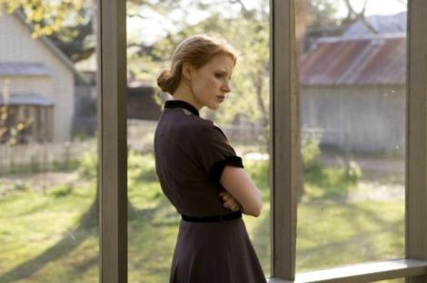 "Jessica Chastain in Terrence Malick's ""The Tree of Life."" Courtesy of Fox Searchlight Pictures."