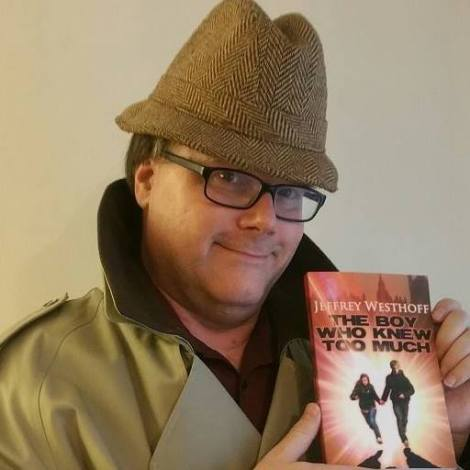 """Jeffrey Westhoff, author of """"The Boy Who Knew Too Much."""""""
