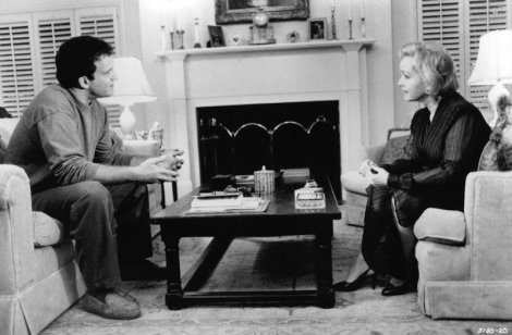 "Albert Brooks and Debbie Reynolds in Brooks's ""Mother."" Courtesy of Paramount Pictures."