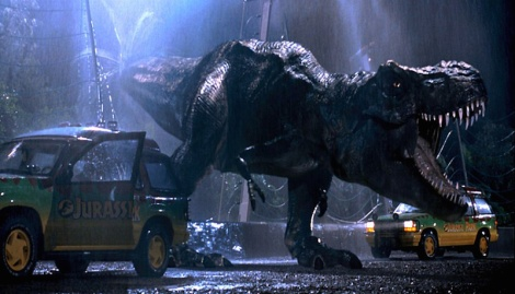 "Steven Spielberg's ""Jurassic Park."" Courtesy of Universal Pictures."