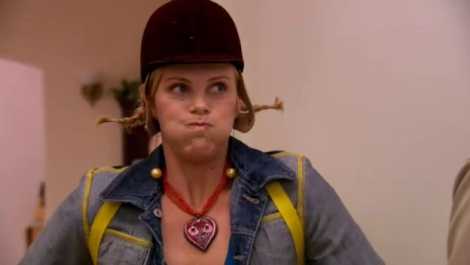 "Charlize Theron on the third season of ""Arrested Development."" Courtesy of Twentieth Century Fox."