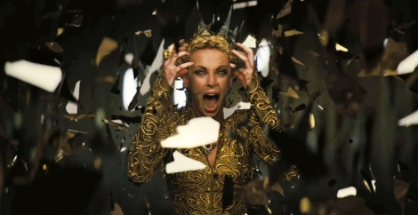 "Charlize Theron in Rupert Sanders's ""Snow White and the Huntsman."" Courtesy of Universal Pictures."