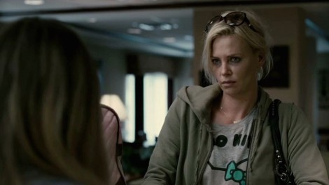 "Charlize Theron in Jason Reitman's ""Young Adult."" Courtesy of Paramount Pictures."