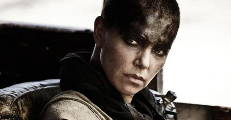 "Charlize Theron in George Miller's ""Mad Max: Fury Road."" Courtesy of Warner Bros."