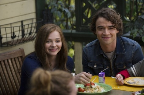"Chloë Grace Moretz and Jamie Blackley in R.J. Cutler's ""If I Stay."""