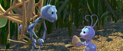 "John Lasseter's ""A Bug's Life."" Courtesy of Pixar."