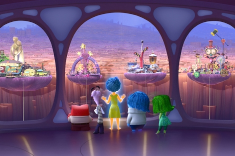 "Pete Docter's ""Inside Out."" Courtesy of Pixar."