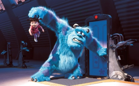 "Pete Docter's ""Monsters, Inc."" Courtesy of Pixar."