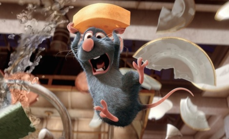 "Brad Bird's ""Ratatouille."" Courtesy of Pixar."