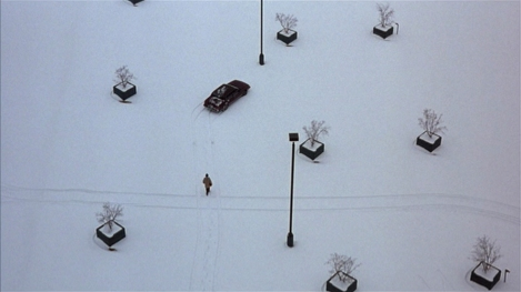 "William H. Macy in Joel & Ethan Coen's ""Fargo."" Courtesy of MGM."