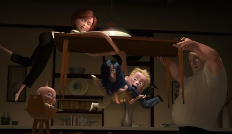 "Brad Bird's ""The Incredibles."" Courtesy of Pixar."