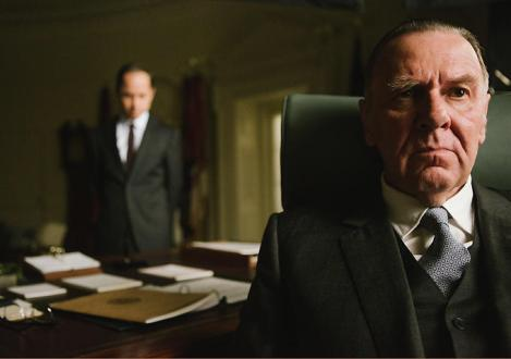 "Tom Wilkinson in Ava DuVernay's ""Selma."" Courtesy of Paramount Pictures."