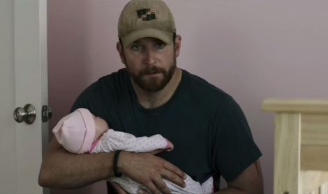 "Bradley Cooper in Clint Eastwood's ""American Sniper."" Courtesy of Warner Bros."