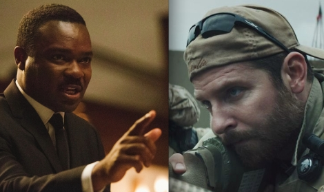 "Ava DuVernay's ""Selma"" and Clint Eastwood's ""American Sniper."""