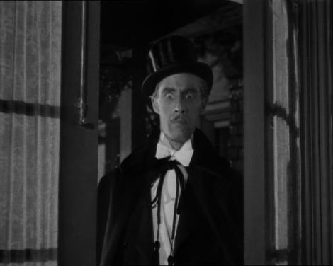 "John Carradine in Erle C. Kenton's ""House of Frankenstein."" Courtesy of Universal Pictures."