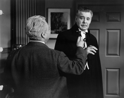 "J. Edward Bromberg and Lon Chaney Jr. in Robert Siodmak's ""Son of Dracula."" Courtesy of Universal Pictures."