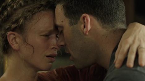 "Amy Ferguson and Morgan Spector in Deborah Kampmeier's ""SPLit."""