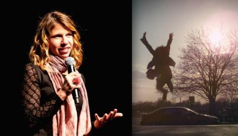 """Valerie Weiss, director of """"A Light Beneath Their Feet."""""""