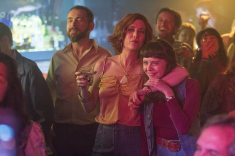"Kristen Wiig and Bel Powley in Marielle Heller's ""The Diary of a Teenage Girl."""