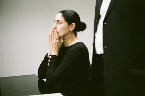 "Ronit Elkabetz in Ronit & Shlomi Elkabetz's ""Gett: The Trial of Viviane Amsalem."""