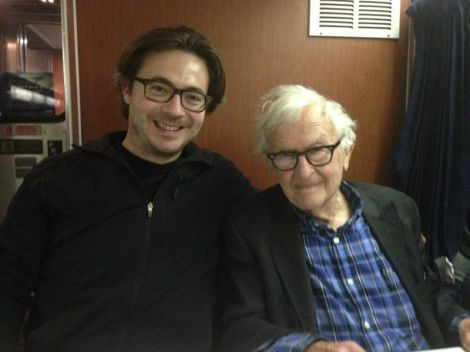Josh Golden and Albert Maysles.