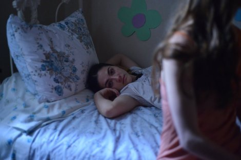 Isabelle Fuhrman and Caitlin Carver in THE DELTA GIRL, photo by Madeleine Morlet (c) American Film Institute